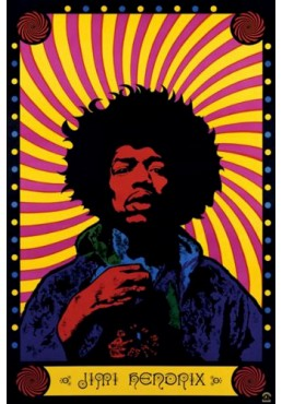Jimi Hendrix (POSTER)