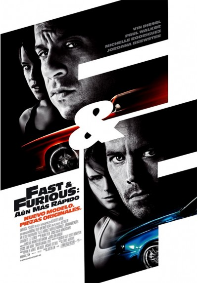 Fast & Furious: Aún más rápido (POSTER)