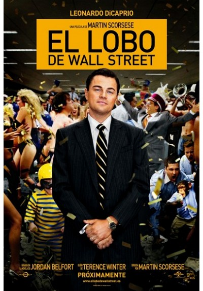 El Lobo de Wall Street (POSTER)