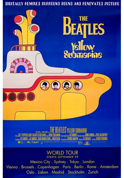 The Beatles - Yellow Submarine  (POSTER)