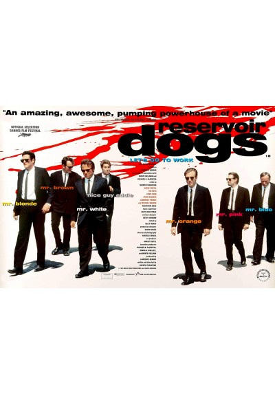 Reservoir Dogs (POSTER)
