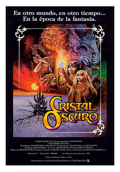Cristal Oscuro (POSTER)