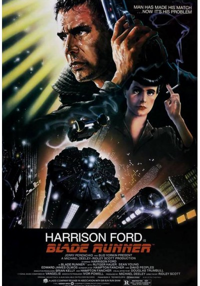 Blade Runner - Harrison Ford (POSTER)