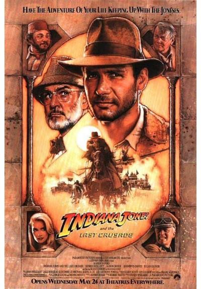 Indiana Jones y La Ultima Cruzada (POSTER)