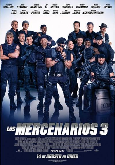 Los Mercenarios 3 (POSTER)