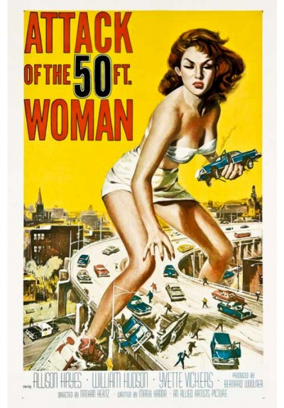 El Ataque de la mujer de 50 Pies (POSTER)