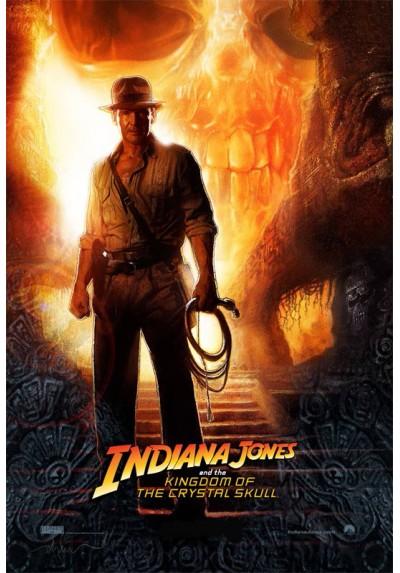 Indiana Jones y El reino de la calavera de cristal (POSTER)