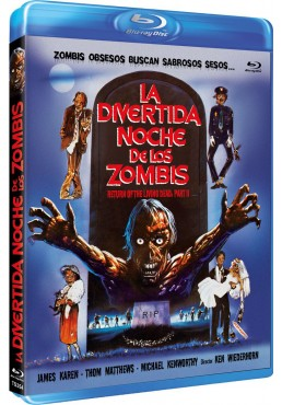 La Divertida Noche De Los Zombis (Blu-Ray) (Return Of The Living Dead: Part II)