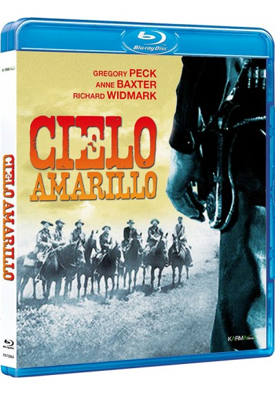 Cielo Amarillo (Blu-Ray) (Yellow Sky)