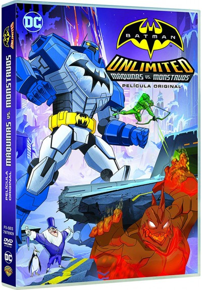 Batman Unlimited: Máquinas Vs Monstruos (Batman Unlimited: Mech Vs. Mutants)