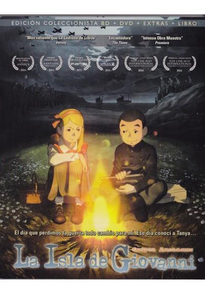 La Isla De Giovanni (Blu-Ray + Dvd + Dvd Extras + Libro) (Ed. Coleccionista) (Giovanni No Shima)