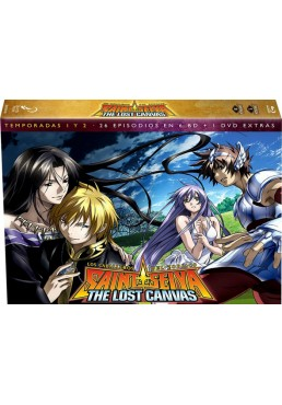 Saint Seiya: The Lost Canvas - 1ª Y 2ª Temporadas (Blu-Ray)