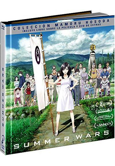 Summer Wars (Blu-Ray + Dvd Extras) (Ed. Libro) (Sama Wozu)