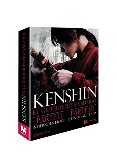 Kenshin: El Guerrero Samurai - Partes II Y III (Blu-Ray)