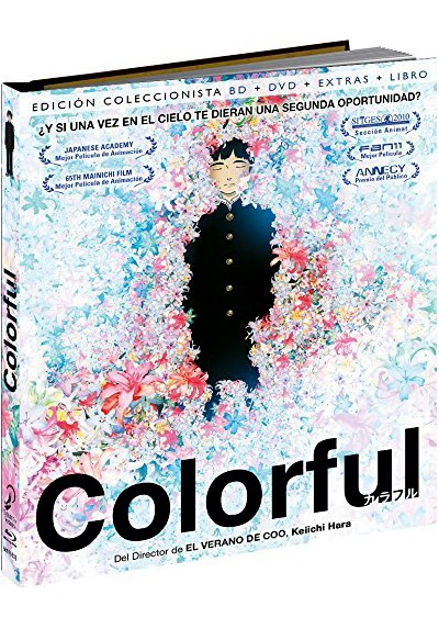 Colorful (Blu-Ray + Dvd Extras) (Ed. Libro) (Karafuru)