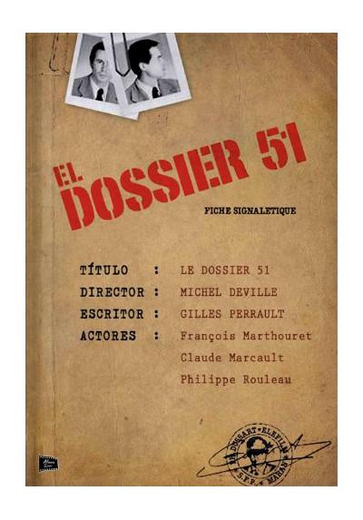 El Dossier 51 (Le Dossier 51)