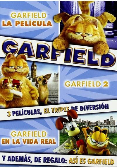 Pack Garfield : La Película / Garfield 2 / Garfield En La Vida Real / Así Es Garfield