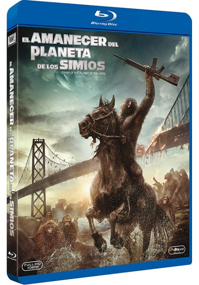 El Amanecer Del Planeta De Los Simios (Blu-Ray) (Dawn Of The Planet Of The Apes)