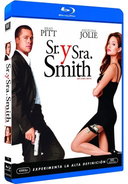 Sr. Y Sra. Smith (Blu-Ray) (Mr. And Mrs. Smith)