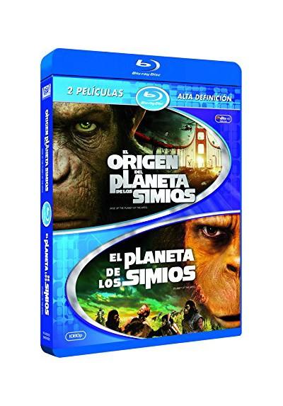 El Origen Del Planeta De Los Simios / El Amanecer Del Planeta De Los Simios (Blu-Ray)