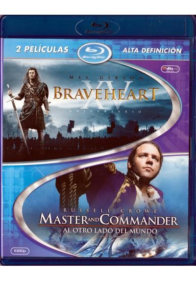 Pack Braveheart / Master & Commander (Blu-Ray)