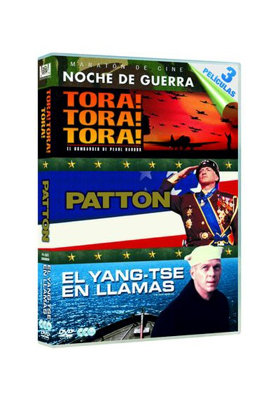 Pack Tora! Tora! Tora! / Patton / El Yang-Tse En Llamas