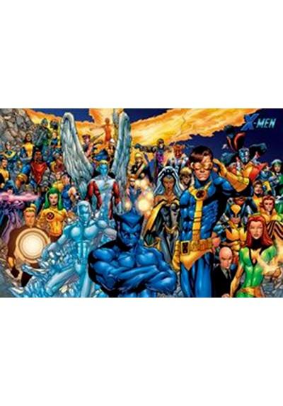 X Men - Personajes (POSTER)