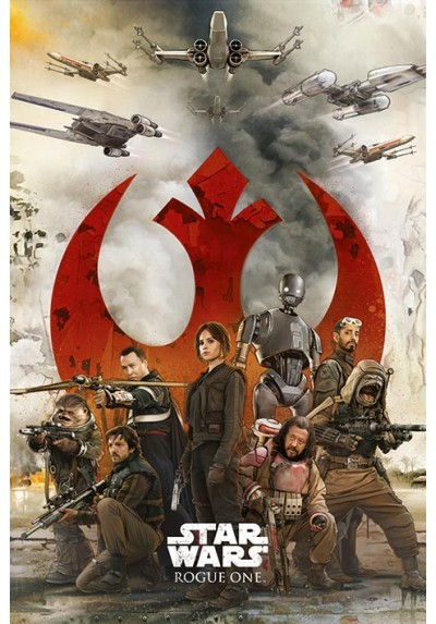 Rogue One: Una Historia de Star Wars - Rebeldes (POSTER)