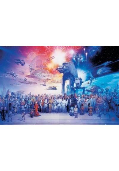 La Guerra de las Galaxias - Personajes (POSTER)