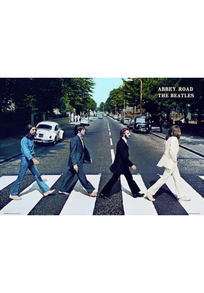 Los Beatles - Abbey Road (POSTER)
