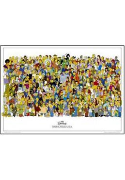 Los Simpson - Personajes (POSTER)