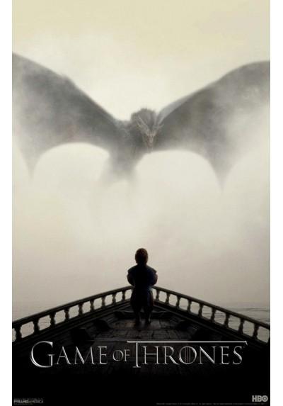 Tyrion y Drogon - Juego de Tronos (POSTER)