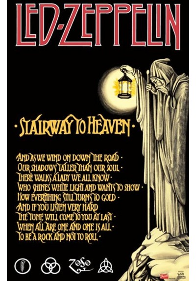 Led Zeppelin - Stairway to Heaven (POSTER)