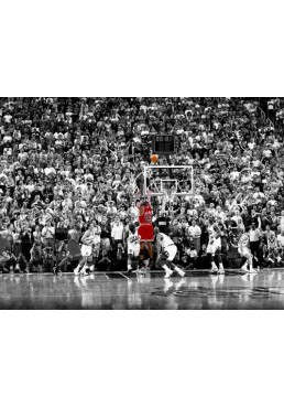 Michael Jordan - Ultimo tiro en la NBA (POSTER)