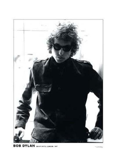 Bob Dylan en Londres (POSTER)