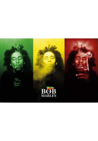 Bob Marley - Bandera (POSTER)
