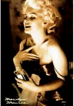 Marilyn Monroe - Chanel Número 5 (POSTER)