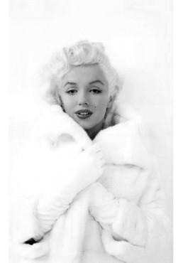 Marilyn Monroe - Abrigo de Visón (POSTER)