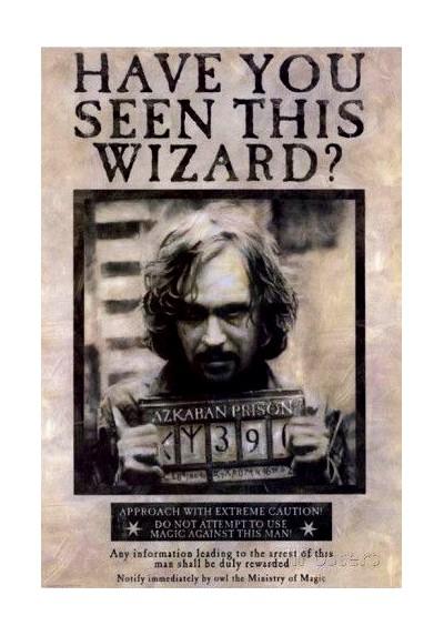 Harry Potter y el Prisionero de Azkaban (POSTER)