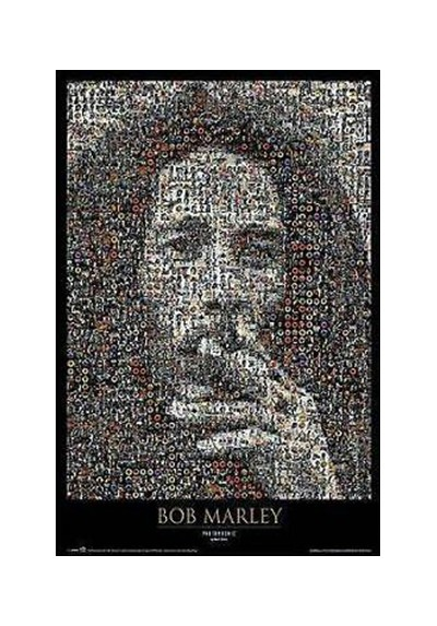 Bob Marley - Fotomosaico (POSTER)