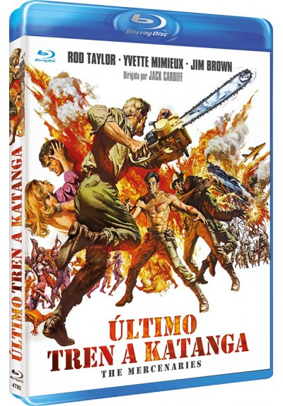 Último Tren A Katanga (Blu-Ray) (The Mercenaries)