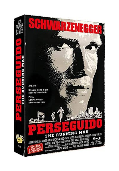 Perseguido (1987) + Dvd Extras (Blu-Ray) The Running Man