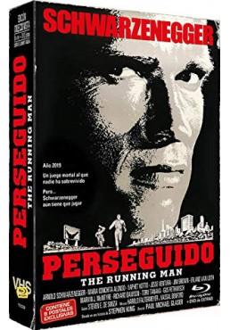 Perseguido (1987) + Dvd Extras (Blu-Ray) The Running Man