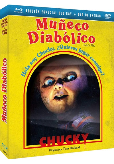 Muñeco Diabólico (Blu-Ray + Dvd Extras + Slip Cover) (Child'S Play)