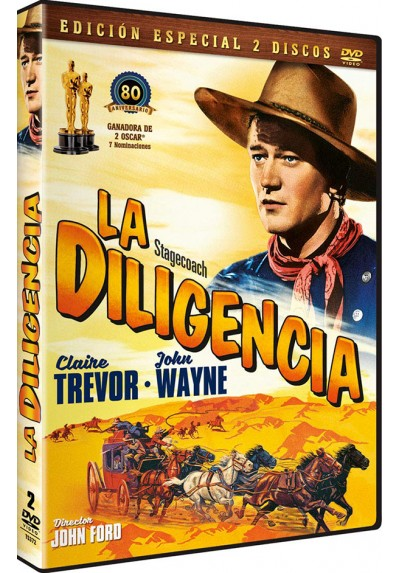 La Diligencia + Dvd Extras (Stagecoach)