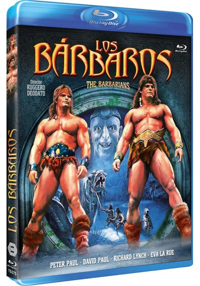 Los Bárbaros (Blu-Ray) (The Barbarians)