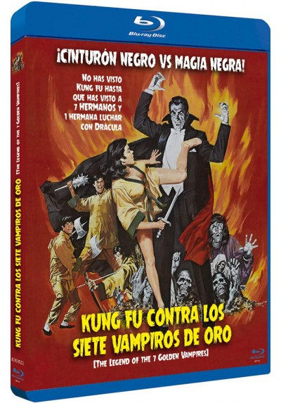 Kung Fu Contra Los 7 Vampiros De Oro (Blu-Ray) (Bd-R) (The Legend Of The 7 Golden Vampires)