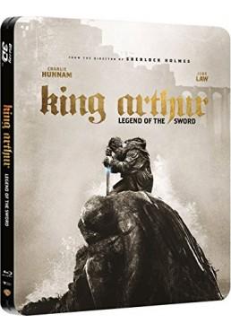 Rey Arturo : La Leyenda De Excalibur (Blu-Ray 3d + Blu-Ray) (Ed. Metálica) ( King Arthur: Legend Of The Sword)