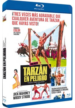 Tarzán En Peligro (Blu-Ray) (Bd-R) (Tarzan'S Three Challenges)
