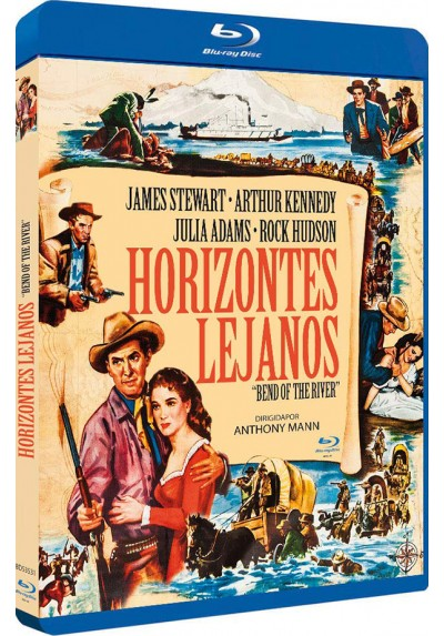 Horizontes Lejanos (Blu-Ray) (Bd-R) (Bend Of The River)